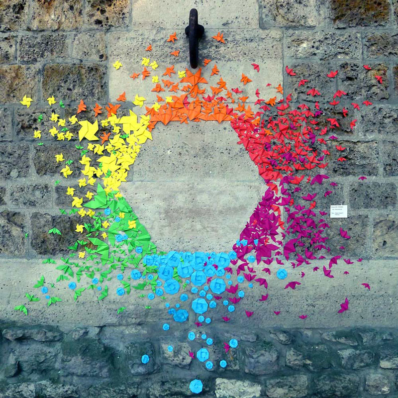 This Urban Artist Creates Rainbow Colored Art Around The World