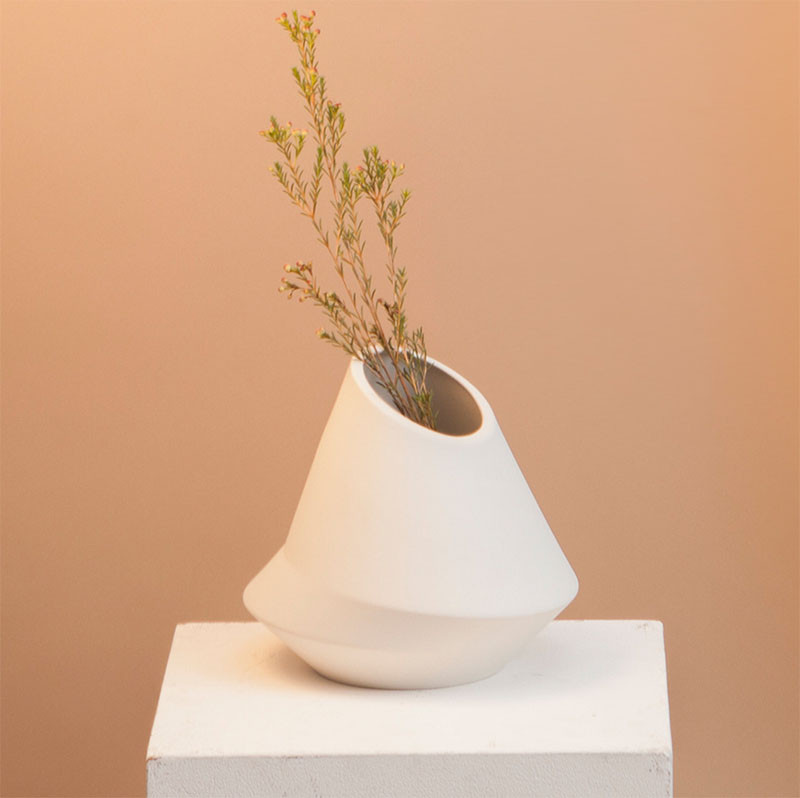 These vases were designed using earthquake seismograph readings