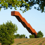 A New Viewing Tower In Belgium Appears To Ignore Gravity