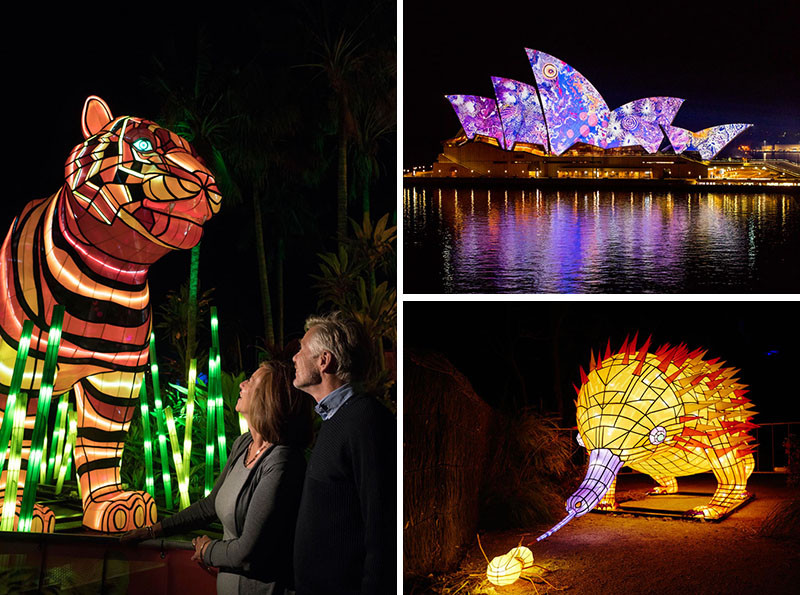 VIVID 2016, a light, music and idea festival, takes over Sydney, Australia for 23 nights.