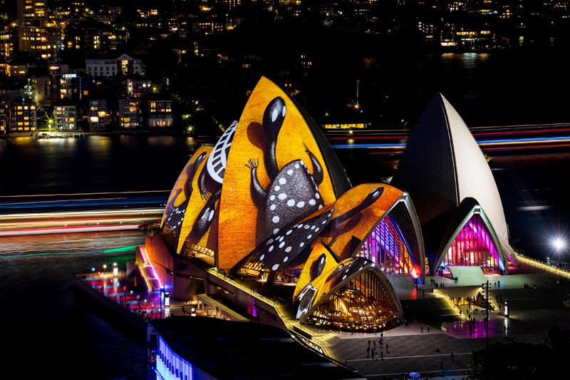 VIVID 2016, a light, music and idea festival, takes over Sydney, Australia for 23 nights.