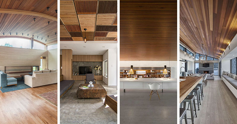 20 Awesome Examples Of Wood Ceilings That Add A Sense Of Warmth To An Interior