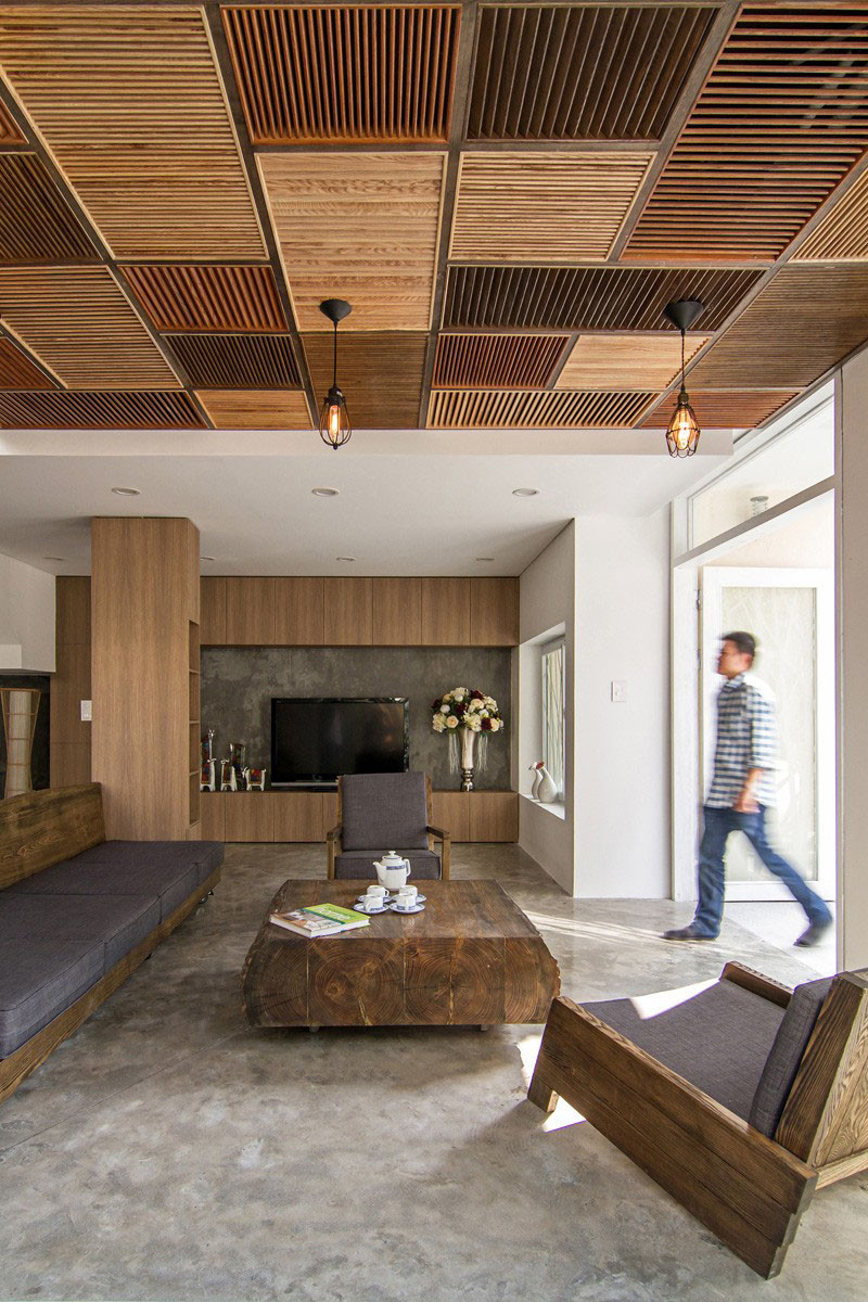 20 Awesome Examples Of Wood Ceilings That Add A Sense Of Warmth To ...