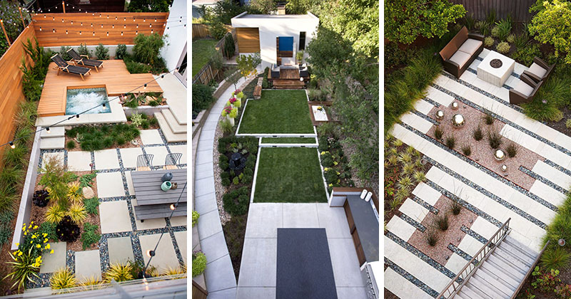 Inspirational Backyard Landscape Designs As Seen From Above - Backyard design charlotte