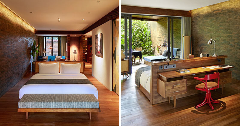 Beds Don T Have To Go Against The Wall Contemporist