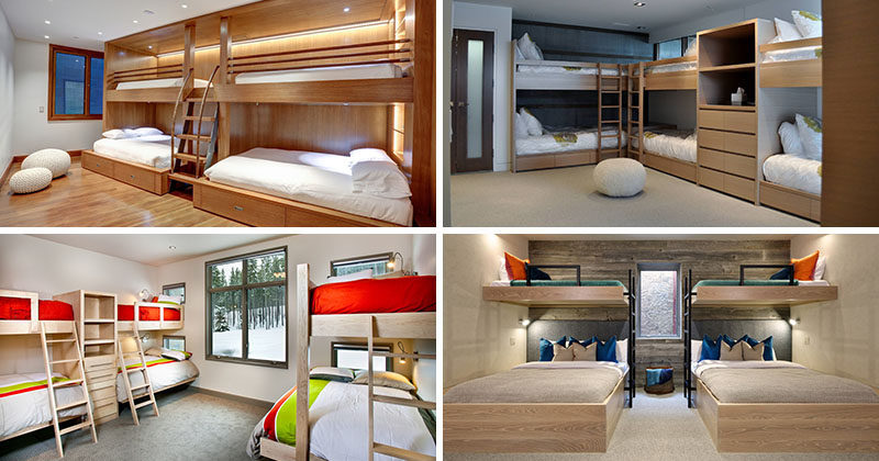 Nice  Design Ideas For Sleeping Six People In A Room