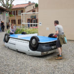An Artist Transformed A Car Into A Ping Pong Table
