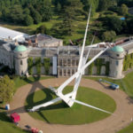 Gerry Judah Creates A Huge Sculpture At 2016 Goodwood Festival Of Speed To Celebrate 100 Years of BMW