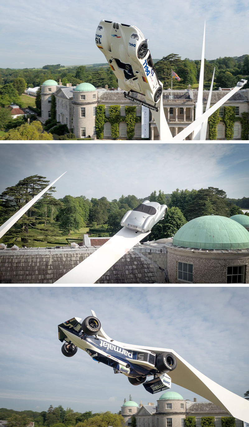 Gerry Judah Creates A Huge Sculpture At Goodwood Festival Of Speed To Celebrate 100 Years of BMW