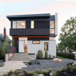 A New Brick And Cedar Clad Home Arrives In Vancouver