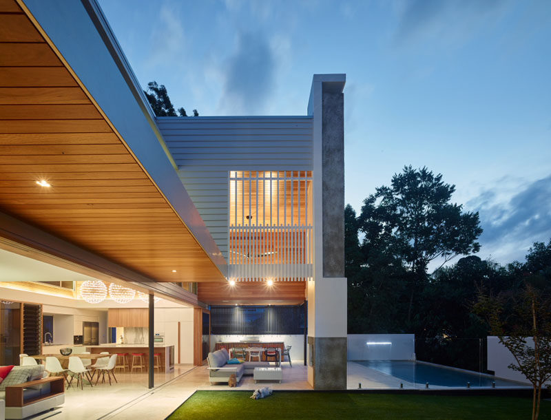 This Australian home has blurred the lines between indoor and outdoor living.