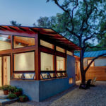 This Wood And Concrete Home In Texas Was Renovated For A Family Of Three