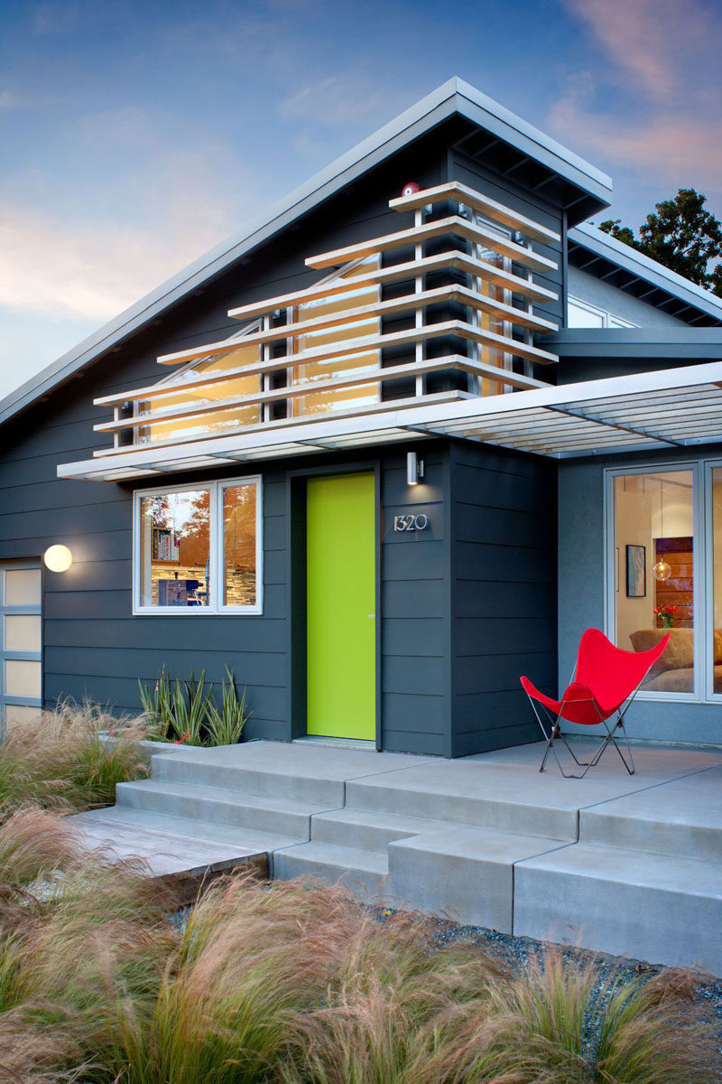 7 Ways To Add Value To Your Home // Create Some Curb Appeal...things like painting the outside, creating a path, planting a tree, adding a designer mailbox, and updating the front door, all make a statement that says you care about your home.