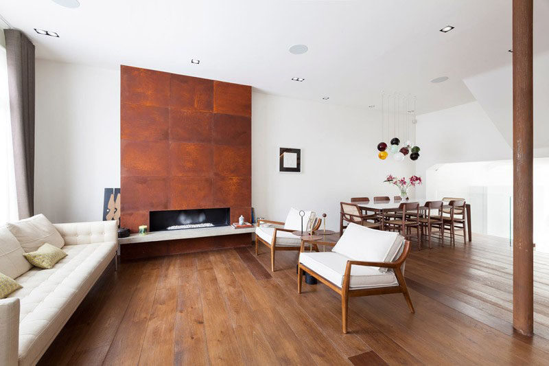 7 Ways To Add Value To Your Home // Make It Contemporary...Popcorn ceilings and wall to wall carpeting are out. Smooth ceilings and hardwood floors (or hardwood lookalikes) are in.