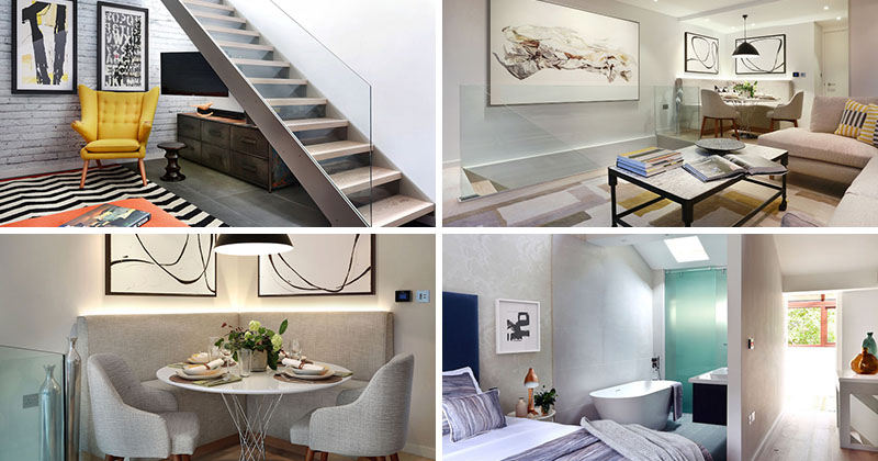 A Contemporary London Townhouse Remodel (with before pics)