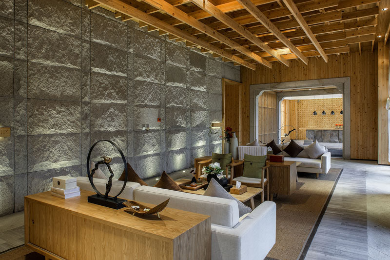 This Spa In China Mixes Traditional And Contemporary Design Elements