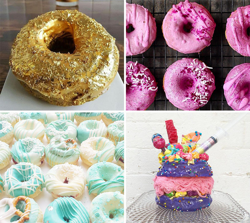 It's National Donut Day...Let's Look At Some Donuts That Are (Almost) Too Beautiful To Eat