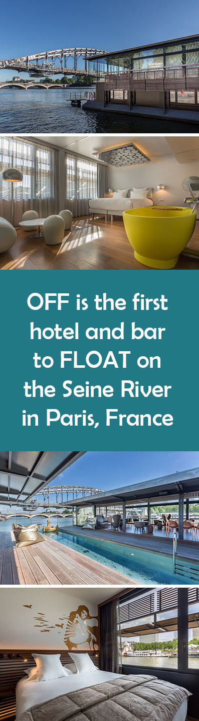 18 Photos of OFF, The Newly Opened Floating Hotel In Paris
