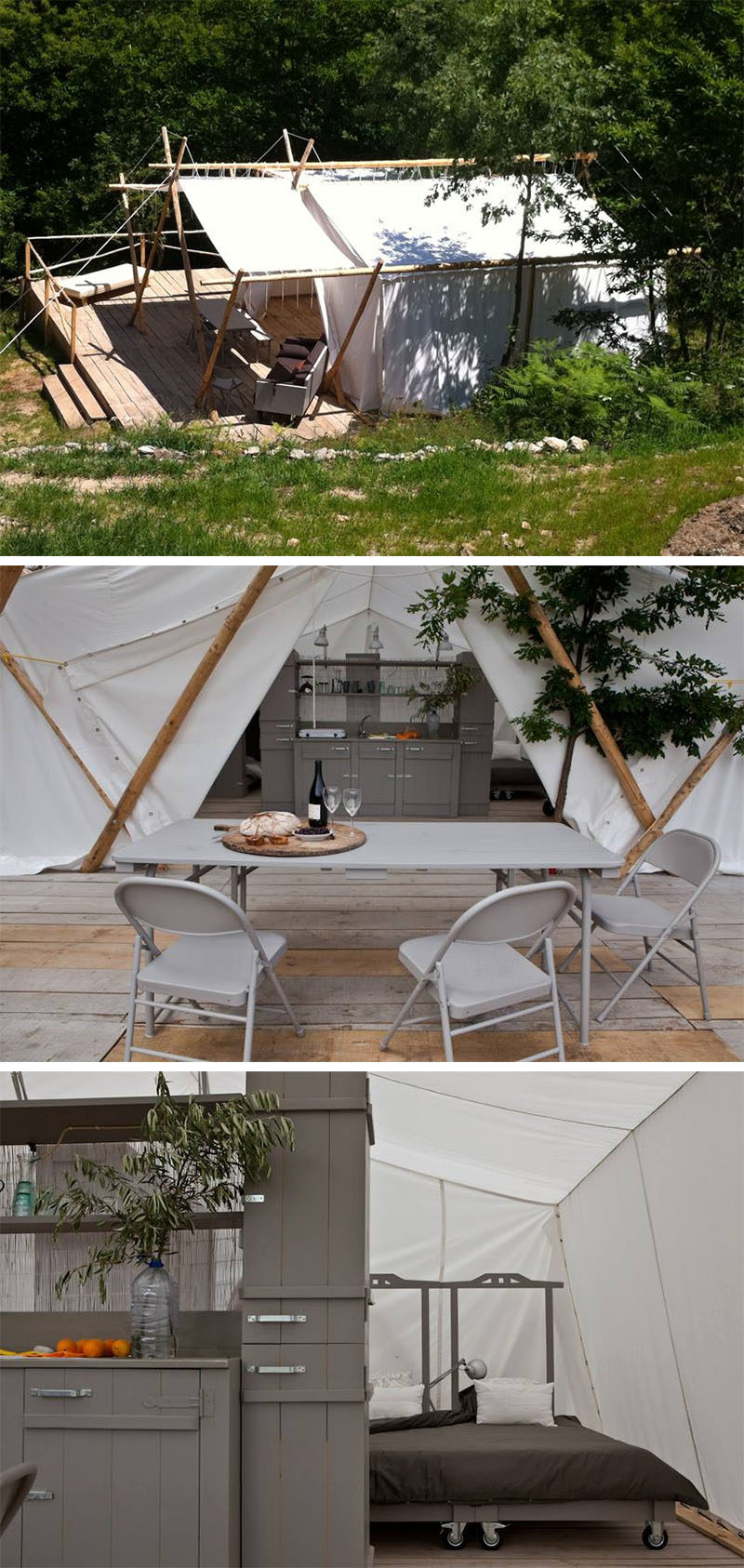 10 Glamping Destinations For People Who Want To Go Camping But Need The Luxuries Of A Hotel // Vinha da Manta - Guarda, Portugal