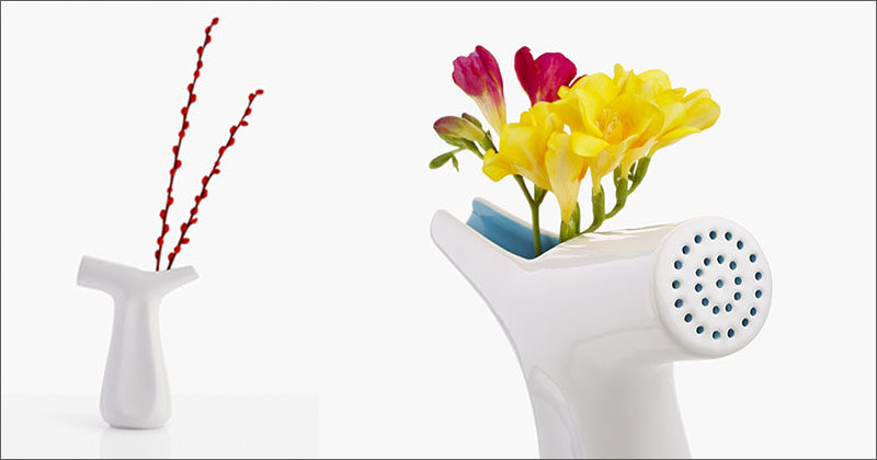 Function And Design Combine In This Watering Pot And Vase