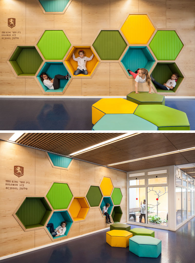 19 ideas for using hexagons in interior design and for Interior designs play