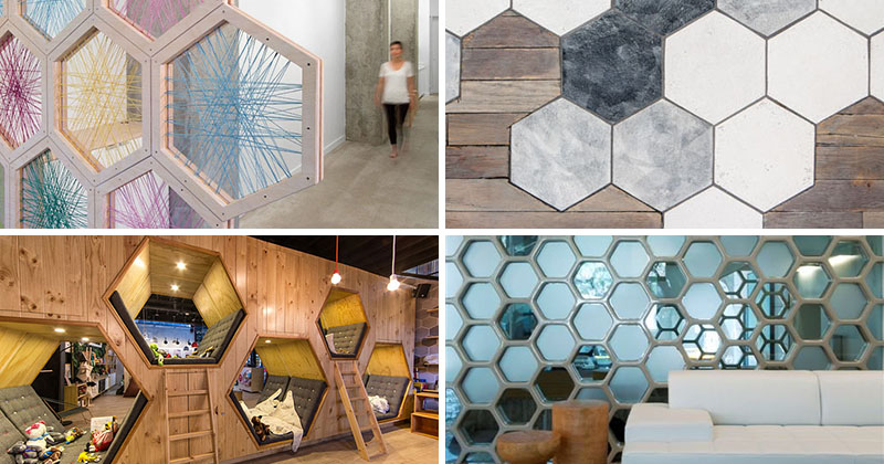 Using Hexagons In Interior Design