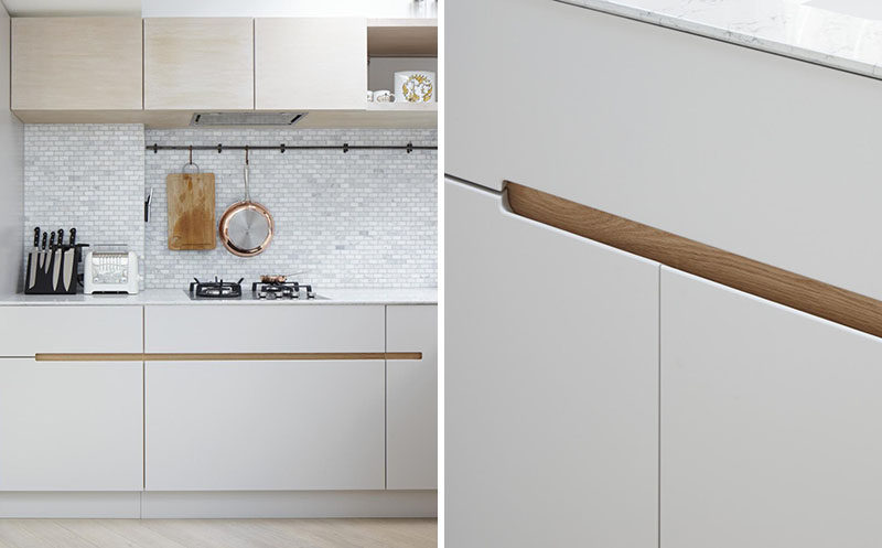 No Hardware For The Kitchen Cabinets In This London Home