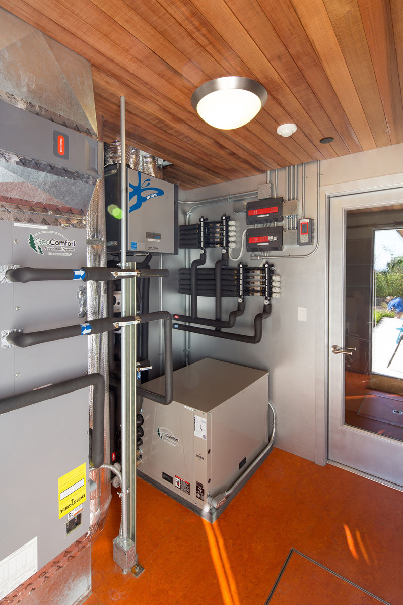 The operations room for a home that is Certified LEED for Homes Platinum
