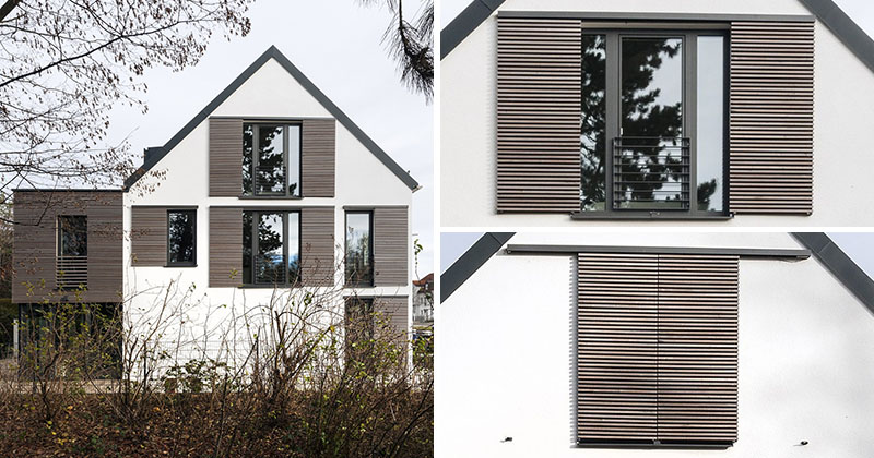 this house is an example of how to do modern window shutters contemporist