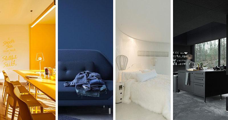 10 Examples Of Monochromatic Interiors