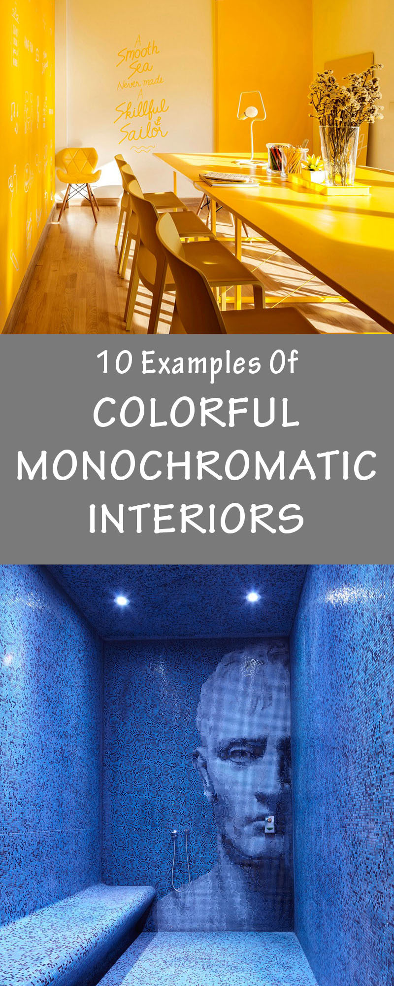 10 Examples Of Monochromatic Interiors