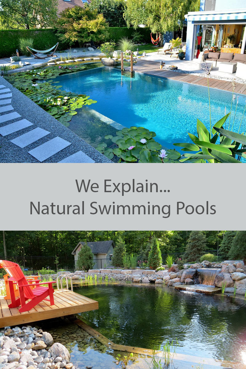 What Are Natural Swimming Pools