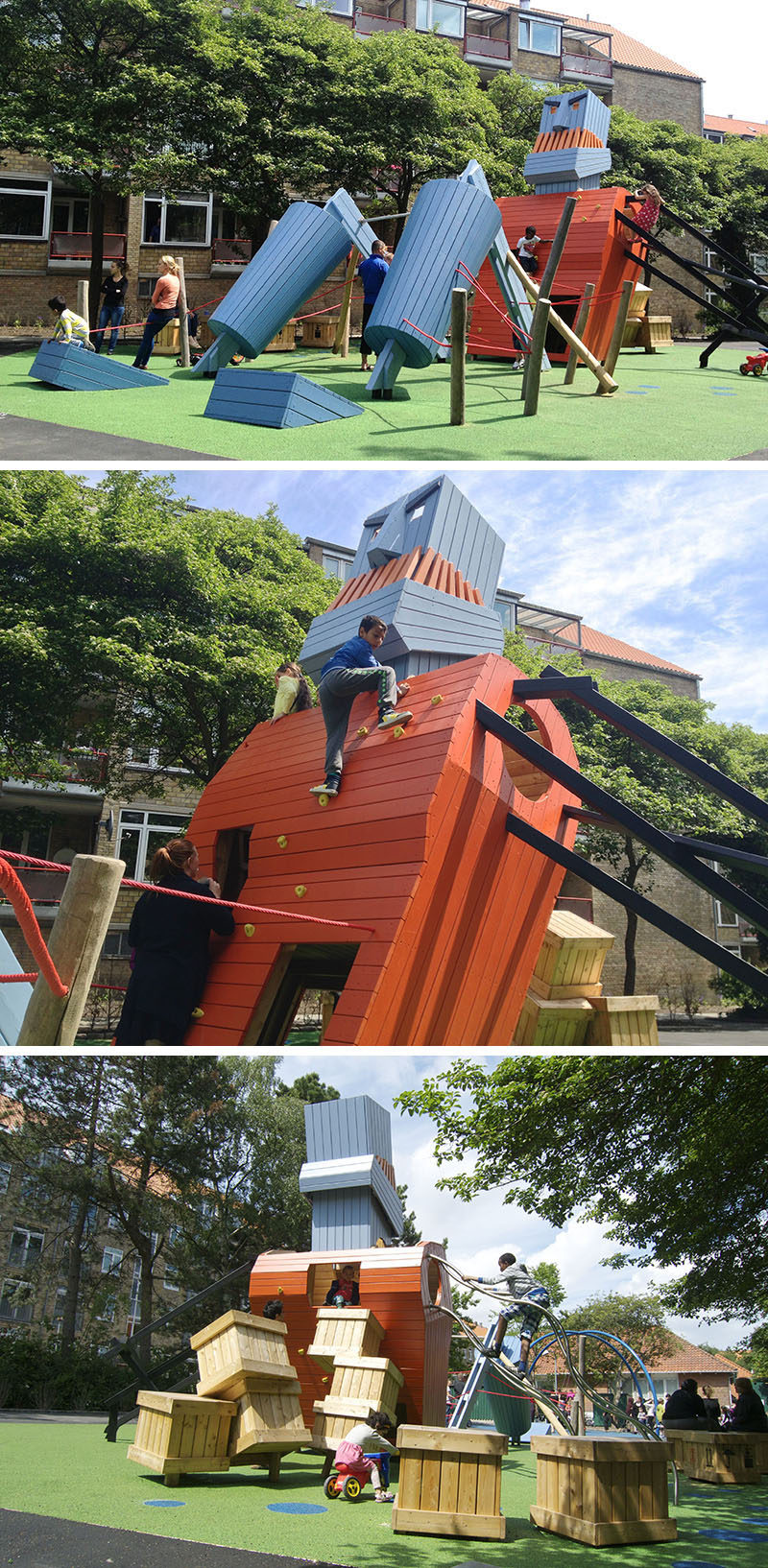 15 Amazing, Unique And Creative Playgrounds // The Monster