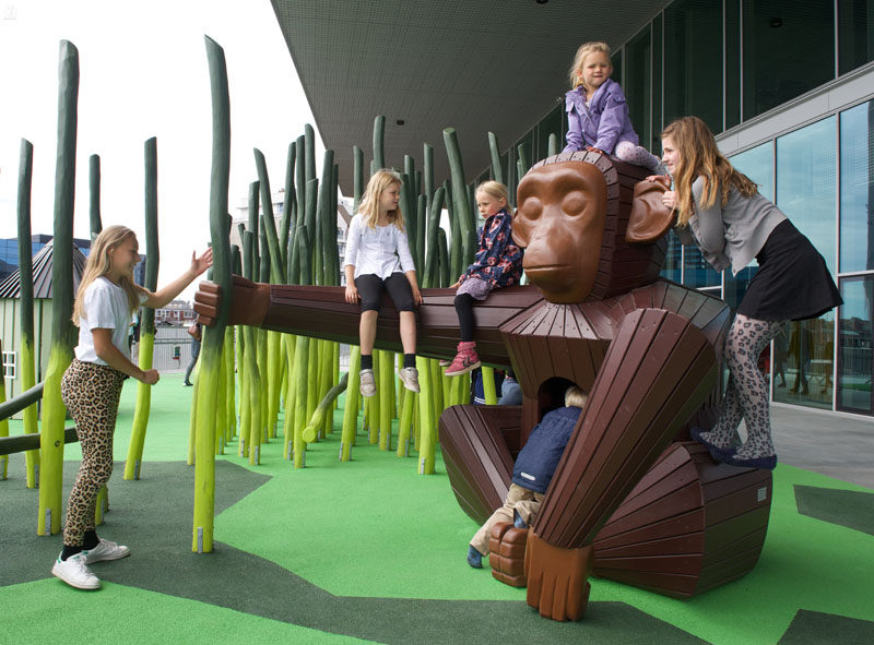 15 Amazing, Unique And Creative Playgrounds // A Monkey