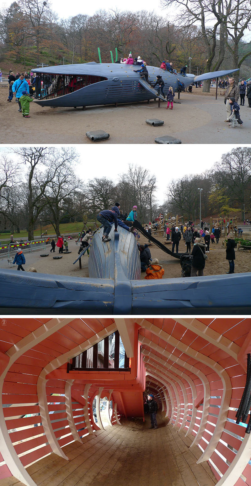 15 Amazing, Unique And Creative Playgrounds // A Blue Whale