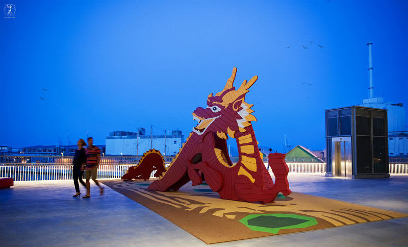 15 Amazing, Unique And Creative Playgrounds // A Dragon