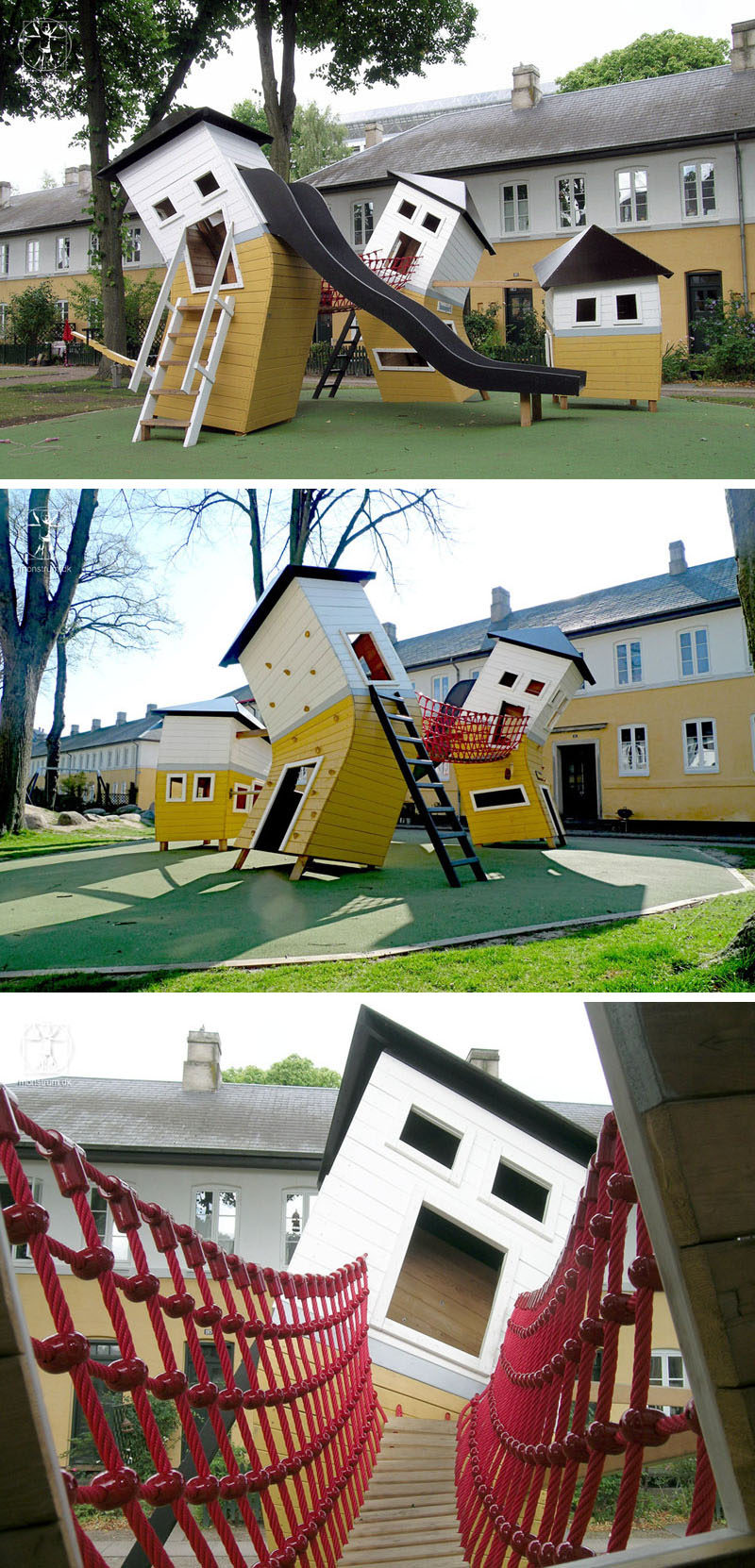 15 Amazing, Unique And Creative Playgrounds // Quirky Bent Houses