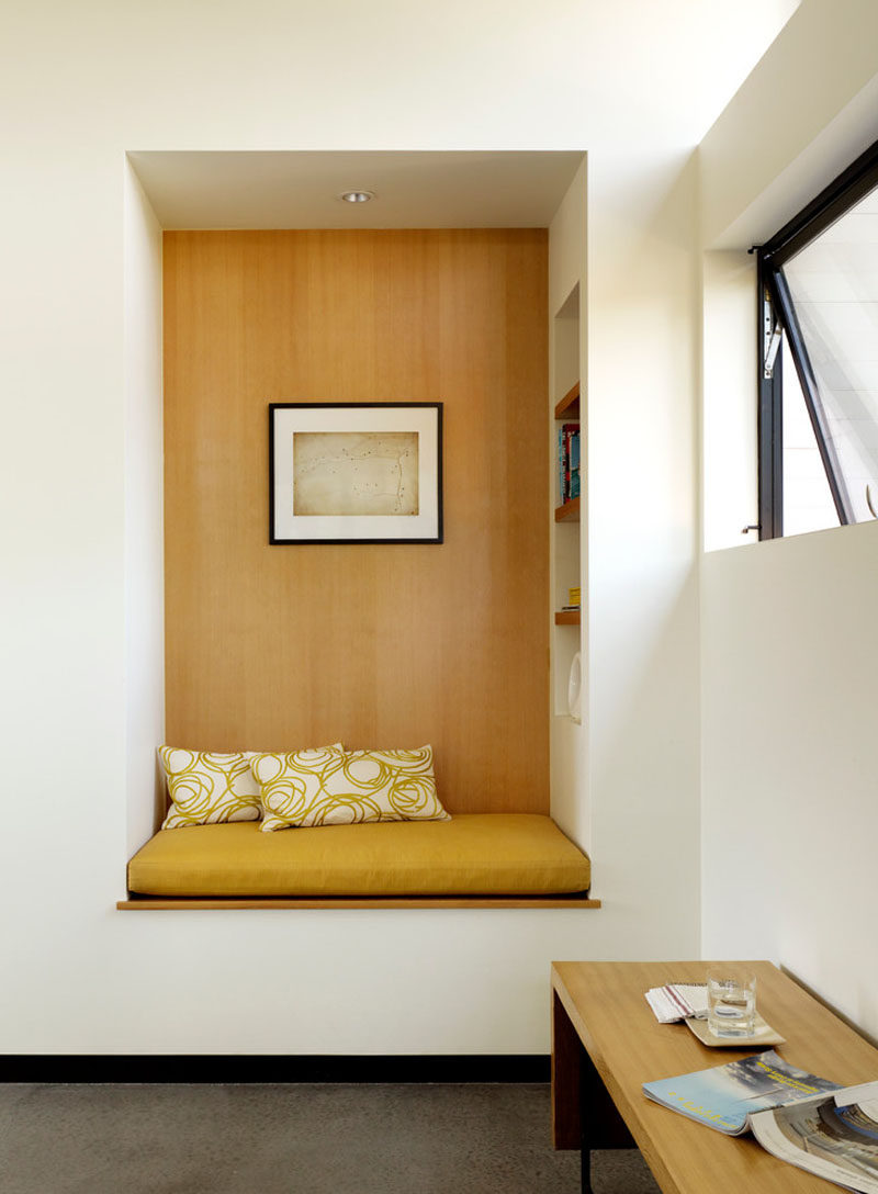 10 reading nooks perfect for curling up in contemporist for Cozy reading nook