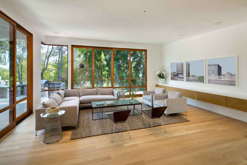 Living room inspiration from a home in California.
