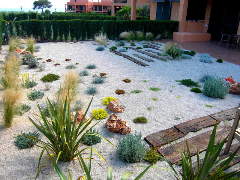 5 benefits of having a rock garden contemporist for Landscaping without plants