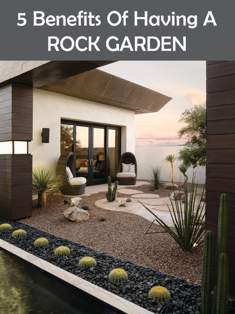 5 Benefits Of Having A Rock Garden
