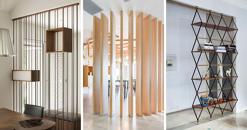 Here are 15 examples of room dividers in a number of different settings and configurations.