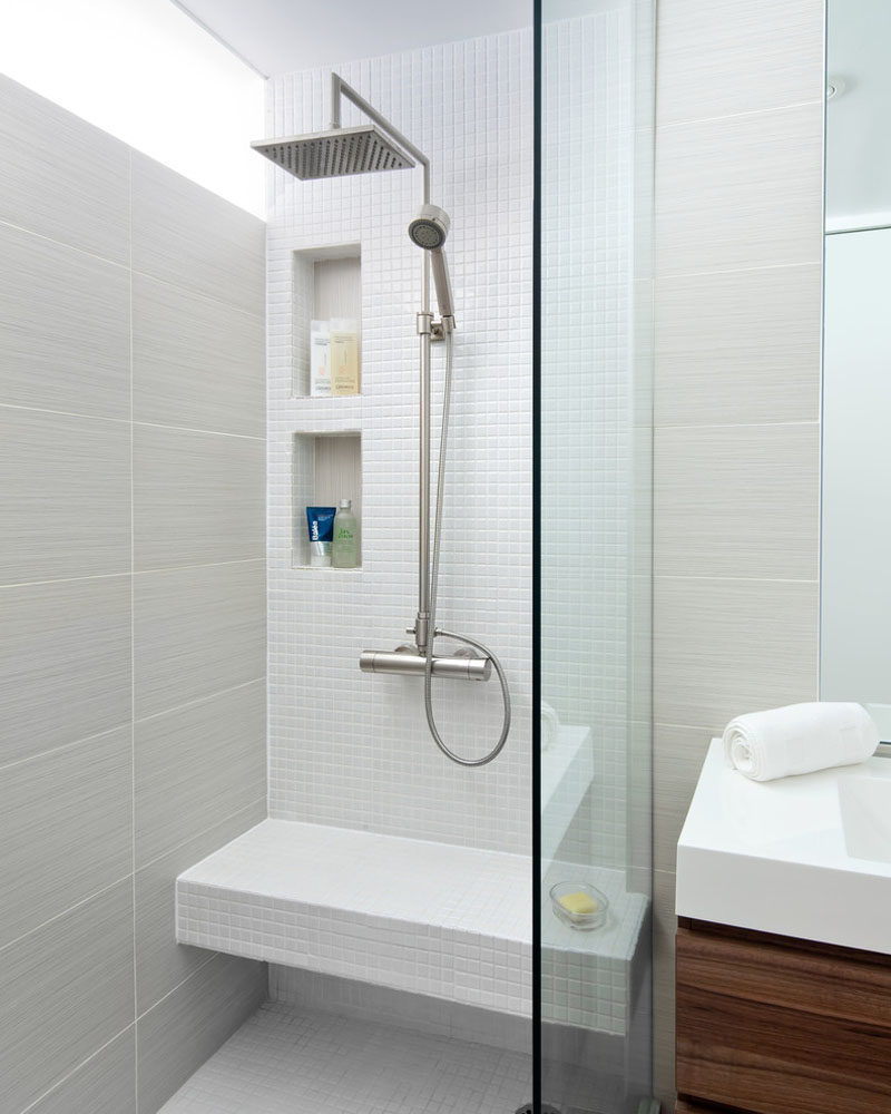 12 Design Ideas For Including Built-In Shelving In Your Shower ...