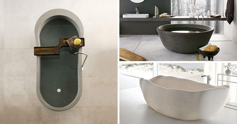 8 Stunning Examples Of Stone Bathtubs