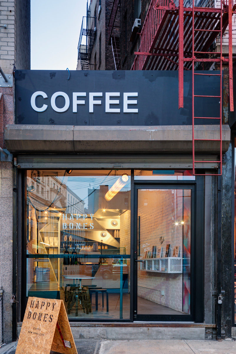 This New York City Coffee Shop That Was Originally An Alleyway