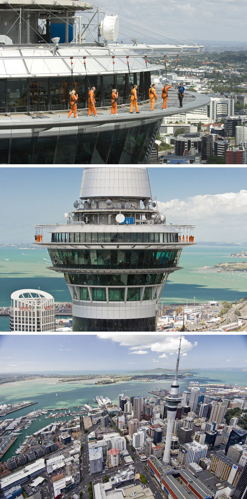 17 Tourist Activities That Would Be A Nightmare For People With A Fear Of Heights // Sky Tower - Auckland, New Zealand