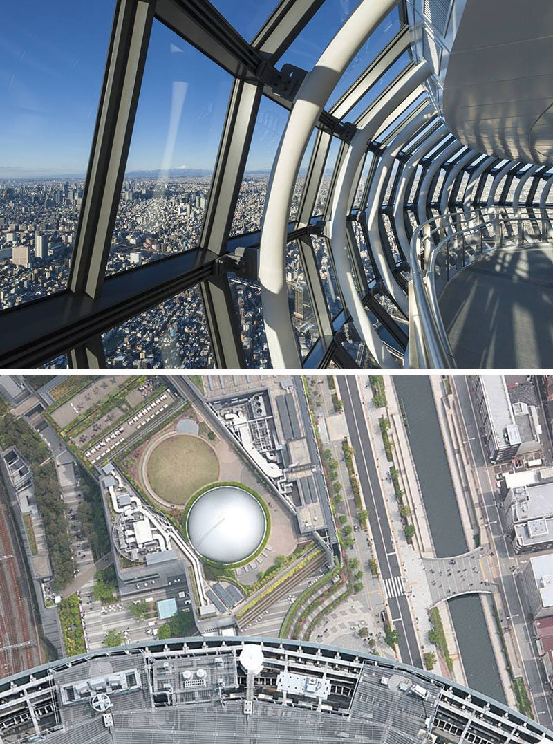 17 Tourist Activities That Would Be A Nightmare For People With A Fear Of Heights // Tokyo Skytree - Tokyo, Japan