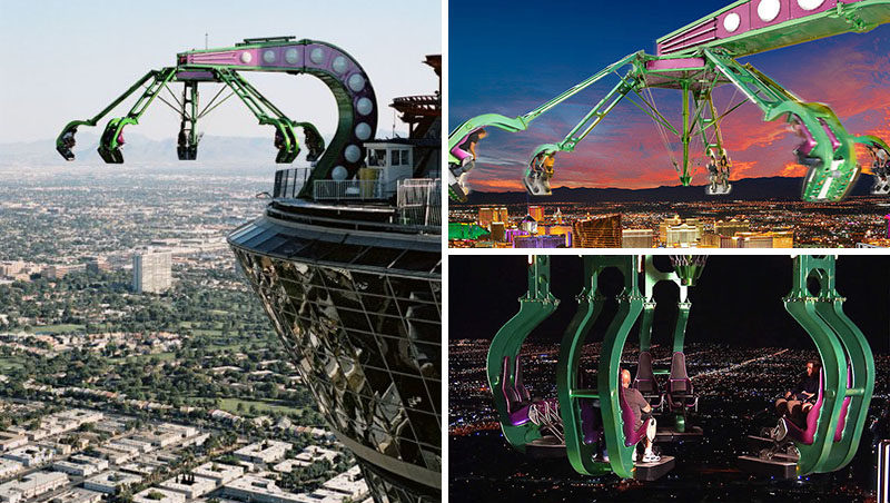 17 Tourist Activities That Would Be A Nightmare For People With A Fear Of Heights // Insanity at the Stratosphere - Las Vegas, Nevada