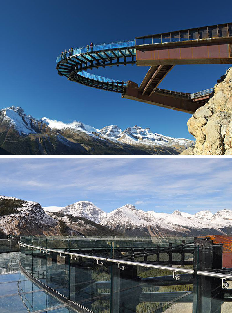 17 Tourist Activities That Would Be A Nightmare For People With A Fear Of Heights // Glacier Skywalk - Jasper, Alberta