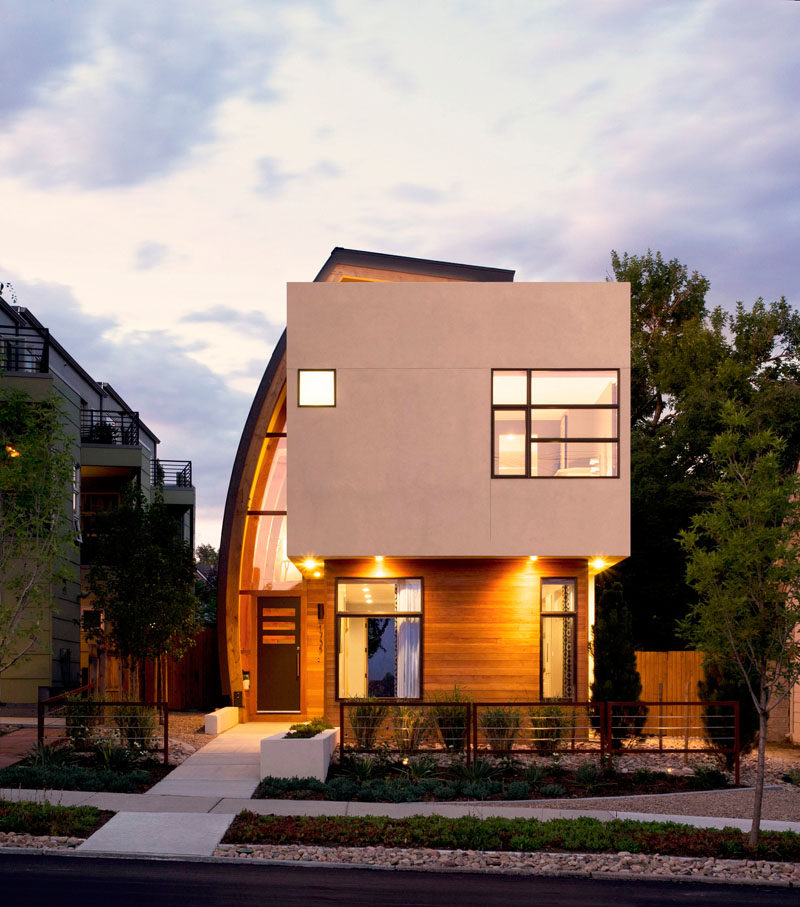 The Shield House in Denver, Colorado, designed by Studio H:T